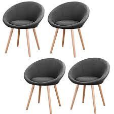 mctech 4x esszimmerstühle besucher stuhl esszimmerstuhl wohnzimmerstuhl stuhlgruppe konferenzstühle bürostuhl stoff