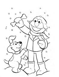 Image Of Free Elmo Coloring Pages To Print
