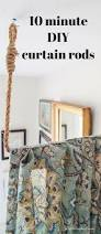 Making Curtains For Traverse Rods by Best 25 Industrial Curtain Rod Ideas On Pinterest Pipe Curtain