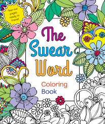 Happy Pubday THE SWEAR WORD Coloring Book