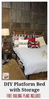 platform bed with storage tutorial platform beds sketches and