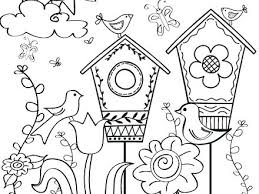Spring Coloring Page Pictures Pages Kids Toddlers Picture Of Springtime Free Printable
