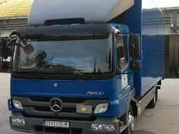 100 Mercedes Box Truck MERCEDESBENZ Atego 818 Closed Box Trucks For Sale From Croatia Buy