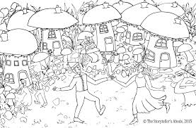 Enchanted Garden Coloring Book Free Pages Of The Wood