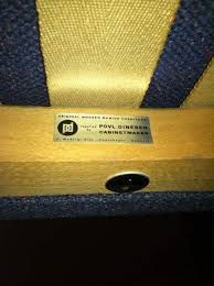 Vintage Hans Wegner Papa Bear Chair by Hans Wegner Papa Bear Chair And Ottoman With Povl Dinesen Label
