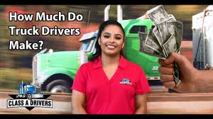 100 How Much A Truck Driver Make Classscom Do S The Hard Facts