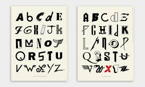 Music Typography Alphabet Of Posters Cool Material