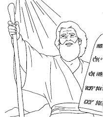 Ten Commandments Coloring Page Corresponsablesco