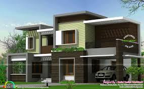 100 Modern Design Of House Box Type House 2425 Sqft Kerala Home Design And