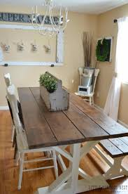 Makeover Style And Modern Rustic Farmhouse Dining Room Decor