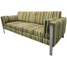 Danish Modern Sofa Legs by Excellent Milo Baughman Chrome Leg Sofa Mid Century Modern For