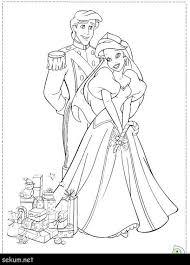 Disney Princesses Coloring Page Princess Pages Printing