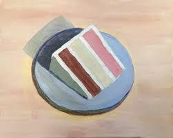 "Wayne Thiebaud s ""Cake Slice"""