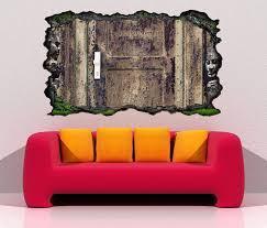 3d wandtattoo rost verrostet tür alt vintage eingang selbstklebend wandbild wandsticker wohnzimmer wand aufkleber 11o884 3dwandtattoo24 de