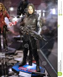 Bucky Barnes Winter Soldier In Toy Soul 2015 Editorial Photo ... Bucky Barnes Winter Soldier Best Htc One Wallpapers Review Captain America The Sticks To Marvel Picking Joe Pavelskis Fear Fin Preview Bucky Barnes The Winter Soldier 4 Comic Vine Marvels Civil War James Buchan Mask Replica Cosplay Prop From Is In 3 2 Costume With Lifesize Cboard Cout Sebastian Stan Pinterest Stan