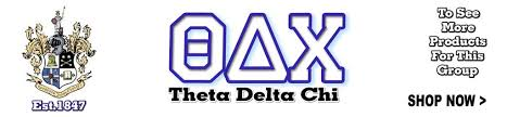 Greek Fraternity Theta Delta Chi Gear and Apparel