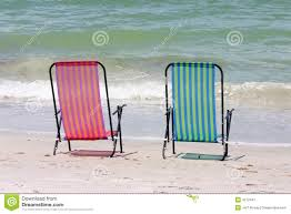 Twin Chairs Stock Image. Image Of Seascape, Chairs, Travel ...