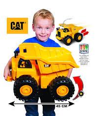 Toy State Caterpillar 18 Inch Push Powered Big Rev It Up Dump Truck ...