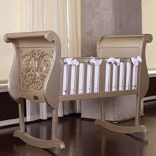 Chelsea Cradle In Antique Silver and Luxury Baby Cribs in Baby