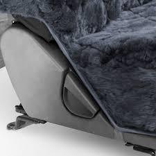 Oxgord Tactical Floor Mats by Sheepskin Car Seat Covers 2pc Set Real Australian Soft Pad Cushion
