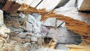 hausschwamm verzögert renovierung der filialkirche bichl