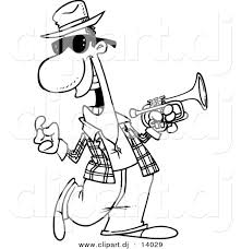 Music Coloring Pages Jazz Kids