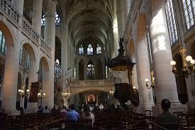 interior église étienne du mont de picture of eglise