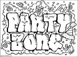 Pretty Design Words Coloring Pages Love Graffiti Words Coloring