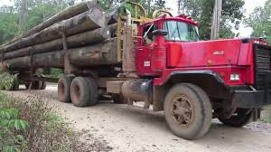 100 Log Trucks Mack Log Truck Suriname YouTube
