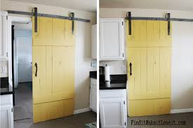 DIY Barn Door - Find It, Make It, Love It Diy Barn Doors The Turquoise Home Best 25 Diy Barn Door Ideas On Pinterest Sliding Doors Remodelaholic Cheap Easy Door A Thats Easier Than You Think Farmhouse 1820 Pantry Jenny Collier Blog 35 Rolling Hdware Ideas 50 British Brace Remington Avenue Double Bypass Sliding System Fail Domestic Coffee Cabinet Shanty 2 Chic