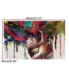 5D Diamond Embroidery Painting Beautiful Village Home Decoration US