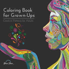 Coloring Book For Grown Ups Creative Patterns Adults