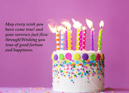 Happy Birthday Cake Wishes For Best Friend