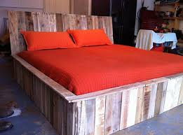 How To Make A Platform Bed From Wooden Pallets by 5 Diy Beds Made From Wooden Pallets 99 Pallets