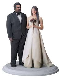 Wedding Cake Toppers Figurines BnG 768x984