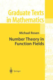 Title Number Theory In Function Fields Edition 1 Author Michael Rosen