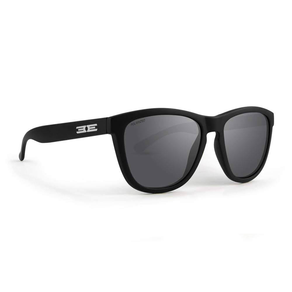 Epoch Eyewear Delta Golf Sport Sunglasses - Black Checker Frame with Polarized Smoke Lens