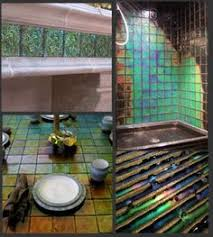 home decor glass ceramic tile color changes with temperature