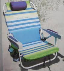 Tommy Bahama Reclining Folding Chair by Tommy Bahama Chair Beach Backpack Lightweight Rustproof Aluminum