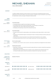 Visual Merchandiser - Resume Samples & Templates | VisualCV 97 Visual Mchandiser Job Description Resume Download Retail Pagraphrewriter Merchandising Sample Free Cover Letter Examples Samples Templates Visualcv Rumes Valid Template New 30 Objectives For Refrence Plusradioinfo Fresh For Position Awesome 29