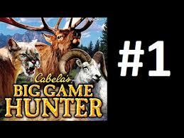 Cabela s Big Game Hunter 2007 Wii PS3 Part 1 Climbing The