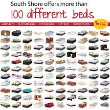 south shore prairie mates bed pine twin mates bed walmart com