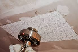 my country home faux tin tile ceiling reveal