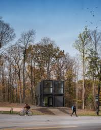 100 10 Wide Shipping Container Bard College Media Lab Comprises Four Shipping Containers That Are