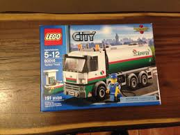 LEGO City Tanker Truck 60016 NEW FACTORY SEALED FREE SHIP ...