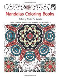 Meditation Mandalas Coloring Books For Adults