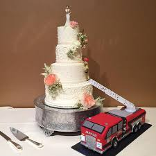100 Truck Wedding Cake Can You Guess That Todays Groom Is A Firefighter I Made Flickr