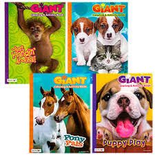 Bulk Giant Coloring And Activity Books 160 Pages At DollarTree