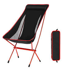 Domary Outdoor Folding Camping Chairs Portable Moon Leisure Chair Beach  Chairs With Carry Bag For Hiking/Travel/Hunting/Fishing Camping Folding Chair High Back Portable With Carry Bag Easy Set Skl Lweight Durable Alinum Alloy Heavy Duty For Indoor And Outdoor Use Can Lift Upto 110kgs List Of Top 10 Great Outdoor Chairs In 2019 Reviews Pepper Agro Fishing 1 Carrying Price Buster X10034 Rivalry Ncaa West Virginia Mountaineers Youth With Case Ygou01 Highback Deluxe Padded