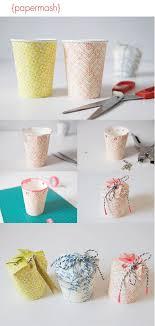 DIY Paper Cup Gift Box